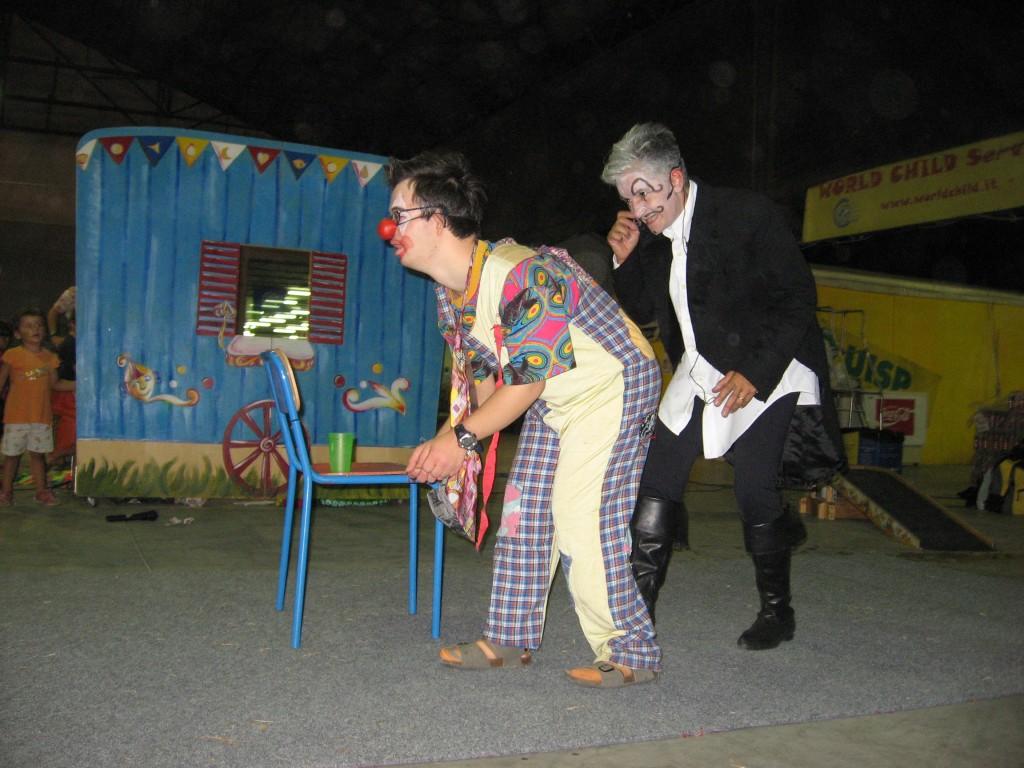 il clown ed il direttore