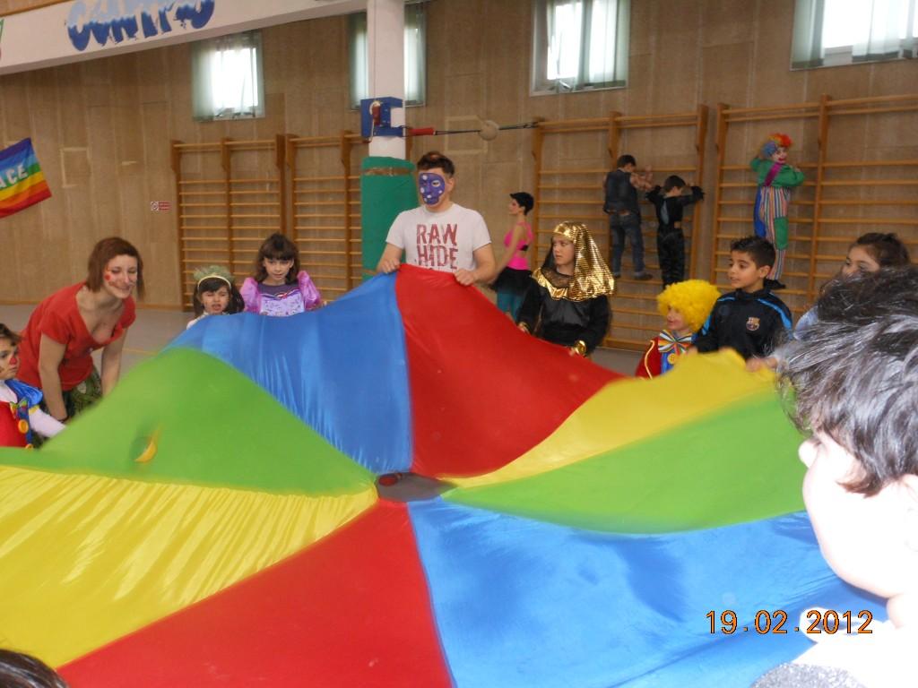 giochi con il paracadute